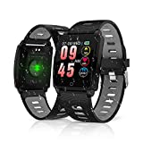 2019 Version Fitness Tracker, King Link Smart Watch with Heart Rate Blood Pressure