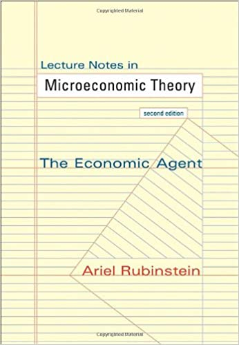 download e books lecture notes in microeconomic theory the economic