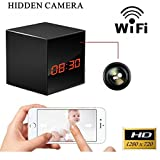 ProElite WL01 Clock Hidden Spy Wireless Wifi HD IP Camera CCTV with SD card Slot (compatible with Android & iPhone)