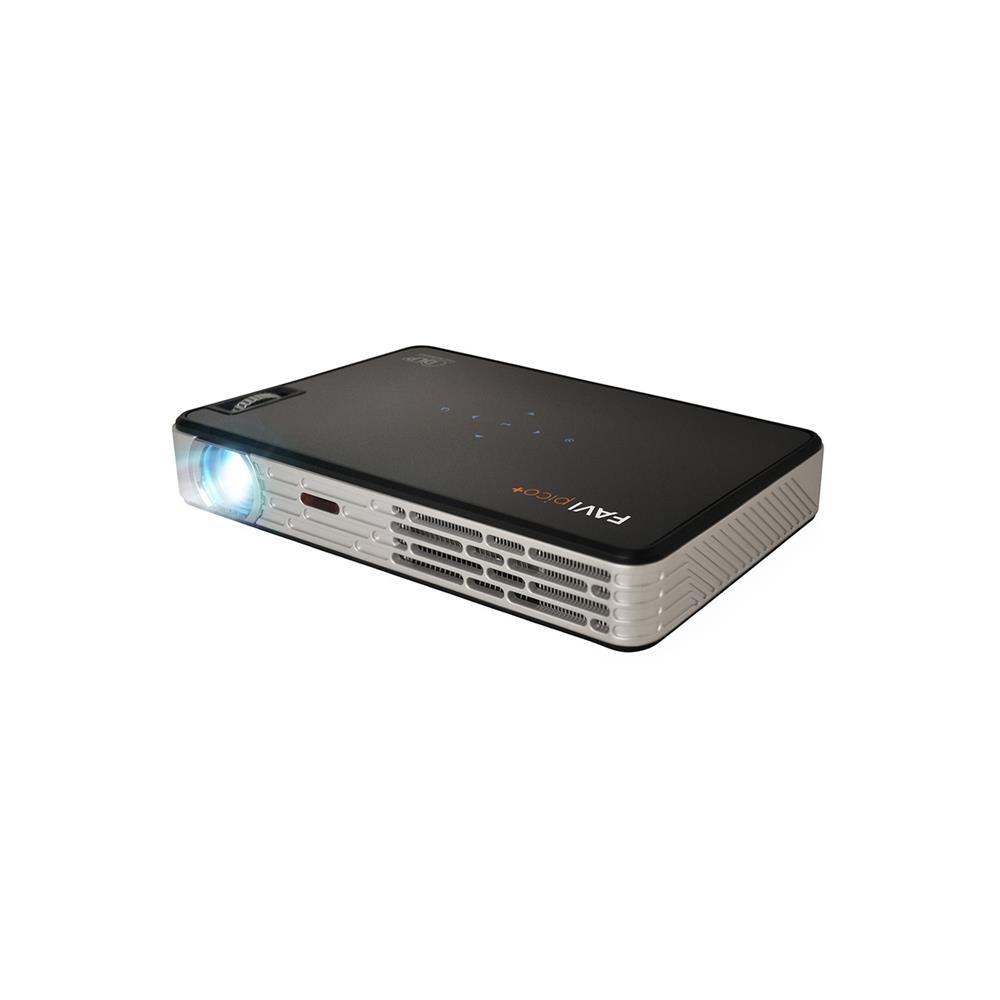 FAVI J5 LED DLP (HD 720p) Pico+ Video Projector - US Version (Includes Warranty) - Pro AV Series (J5-LED-PICO)