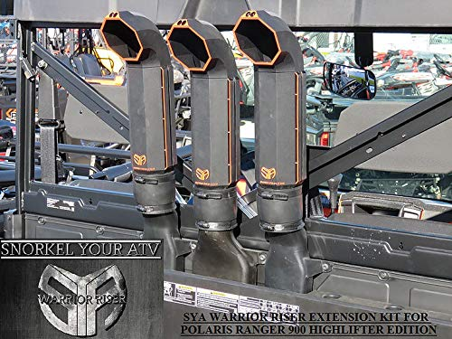 2015-2019 Polaris Ranger XP 900/1000 High Lifter Edition Warrior Riser Extension kit Without LED Light by SYA