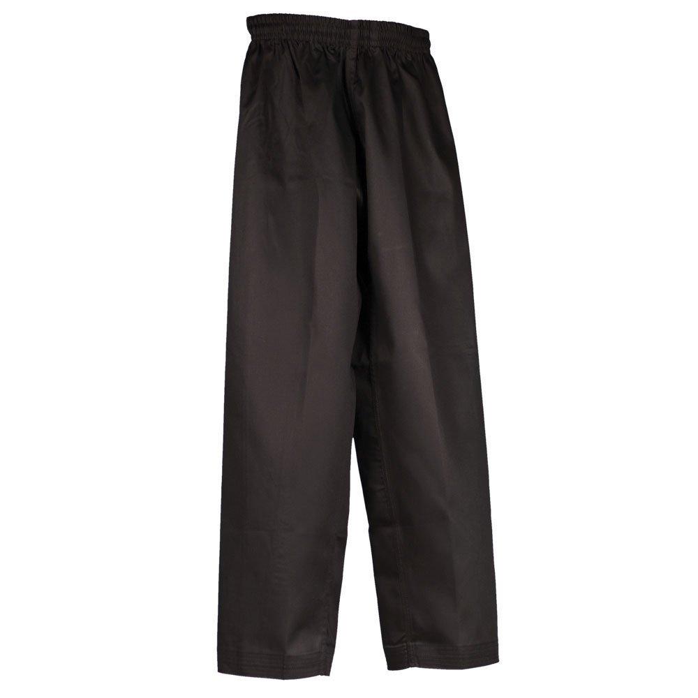 Tiger Claw Martial Arts Pants Poly/Cotton (Black, 0)