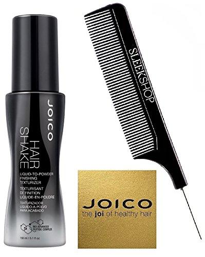 Joico HAIR SHAKE Liquid-to-Powder Finishing Texturizer (with Sleek Steel Pin Tail) (Hair Shake, 5.1 oz)