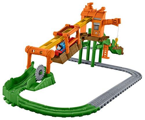 (Fisher-Price Thomas & Friends Adventures, Misty Island Zip-Line Train Playset)