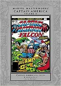 231 HC GOLD VARIANT EDITION  #160-175 MARVEL MASTERWORKS CAPTAIN AMERICA VOL 8