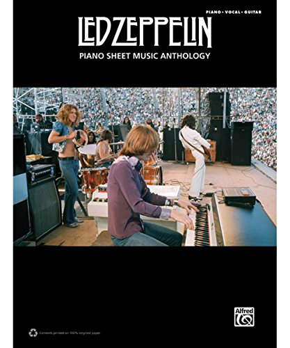 - Alfred Led Zeppelin Piano Sheet Music Anthology PVG Book