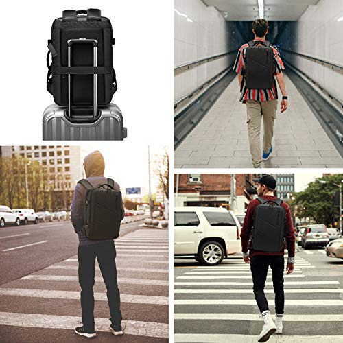 Travel Backpack,WUAYUR 15.6inch Laptop Backpack w/USB Port,40L Carry On Luggage