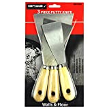 KingOrigin Putty Knife and Paint Scraper Set 3Piece Great Value Pack 40002A