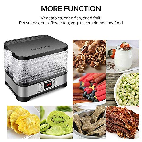 Food Dehydrator Machine, Jerky Dehydrators with 7-Tray, Knob Button by SuperPostman (Image #6)