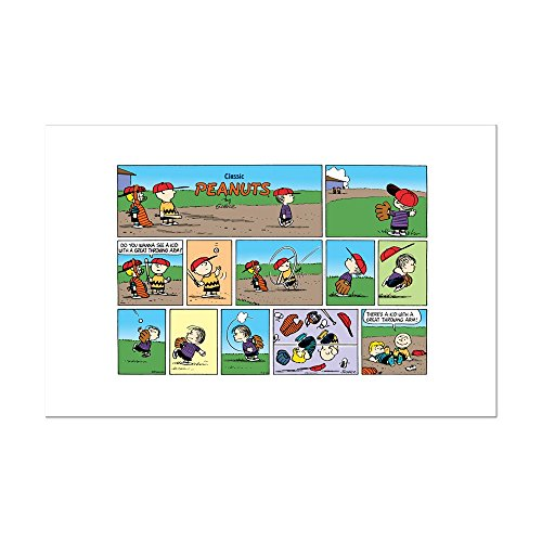 - CafePress - Great Throwing Arm - Mini Poster Print