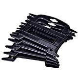 Dilwe 5Pcs Paracord Winder, Portable Line Winder Rope Organizer Spool Tool Prevents Tangles Knots Recoils and Kinks