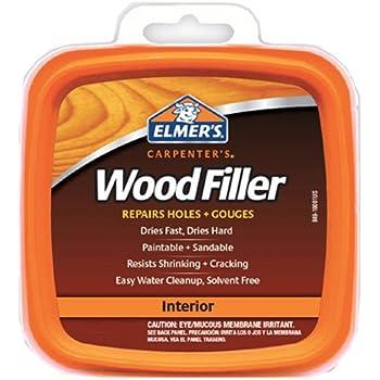 Elmer's E848D12 Carpenter's Wood Filler 1/2-Pint