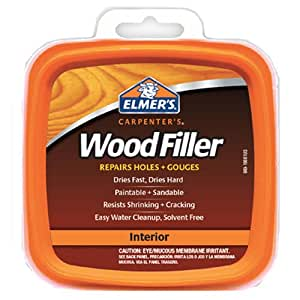 Elmer's E848D12 Carpenter's Wood Filler 1/2-Pint