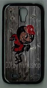 NiuNiu shop For Case Iphone 4/4S Cover Ohio State Buckeyes Alternate Logo For Case Iphone 4/4S Covers( PU material)