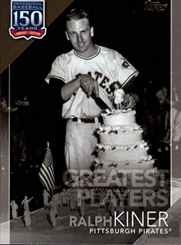 (2019 Topps Series 2 150 Years of Baseball Greatest Players #GP-45 Ralph Kiner Pittsburgh Pirates Official MLB Trading Card)