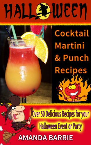 Halloween Cocktail, Martini and Punch Recipes -