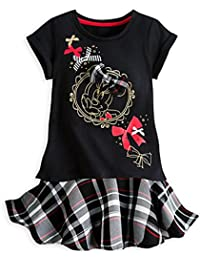 Girls Minnie Mouse Tee and Skirt Set