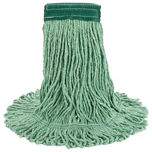UNISAN Super Loop Wet Mop Head, Cotton/Synthetic, Medium Size, Green (502GN)