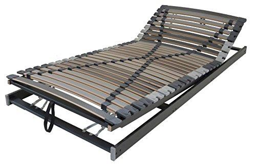 XXXL Lattenrost Perbix 280 kg - Rahmen KF verstellbar, 80x200 cm