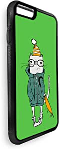 Cartoon drawing - cat Printed Case for iPhone 7