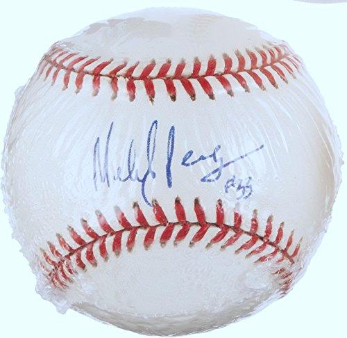 Vintage Ruth Glove Babe Baseball - MELIDO PEREZ SIGNED GENE BUDIG VINTAGE OAL BASEBALL YANKEES ROYALS WHITE SOX PSA