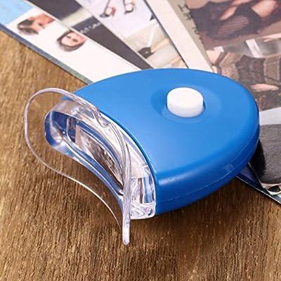 Health Care Teeth Whitening Device Compact Portable LED Light Teeth Whitening Kit Non Sensitive