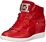 MICHAEL Michael Kors Women's Nikko High-Top Black Suprema Nappa Sport Sneaker