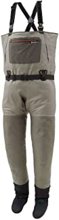 product image for Simms G3 Guide Stockingfoot Wader Greystone L(9-11)
