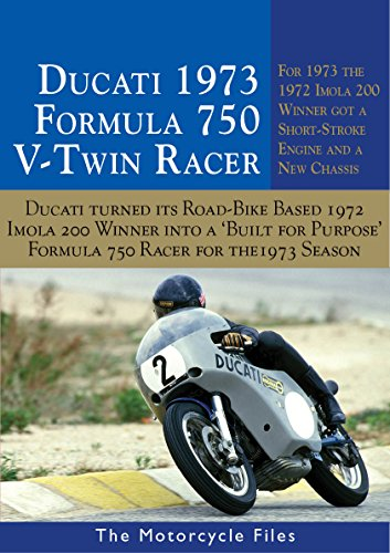 DUCATI 750SS IMOLA RACER 1973: FURTHER DEVELOPMENT OF THE FAMOUS 1972 IMOLA 200 WINNER - WITH NEW 'SHORT STROKE' ENGINE (THE MOTORCYCLE FILES Book 17)