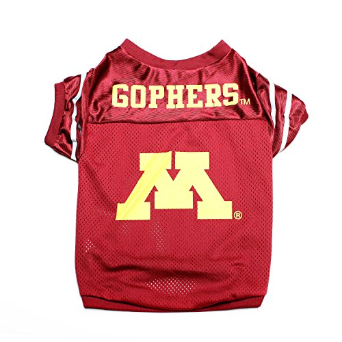 Pet Goods NCAA Minnesota Golden Gophers Collegiate Pet Jersey, Medium ()