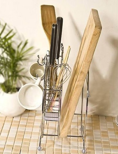 Umiwe(TM) Multi-function Knife Chopping Block Stand Chopsticks Rack With Umiwe Accessory Peeler