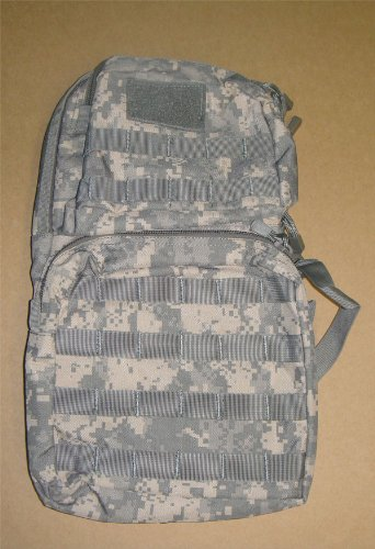 Molle Hydration Backpack Pack with Bladder-ACU, Outdoor Stuffs