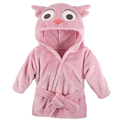 Hudson Baby Unisex Baby Plush Bathrobe ()