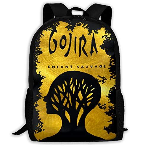 Classic Ultralight Superbreak Backpack - Big Student Backpack, Gojira L'enfant Sauvage