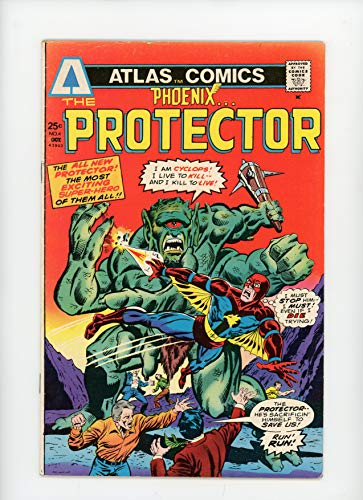 PHOENIX #4 | Atlas (Seaboard) | October 1975 | Vol 1 | Origin & Costume/The Protector]()