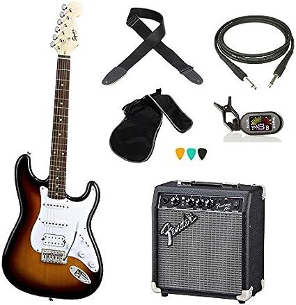 Fender Squier Bullet HSS Kit Guitarra Eléctrica Color sunburst ...