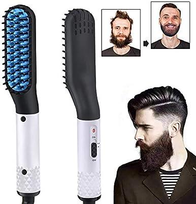YYINHUI Alisador de Barba para Hombres, 2 en 1, Multifuncional ...