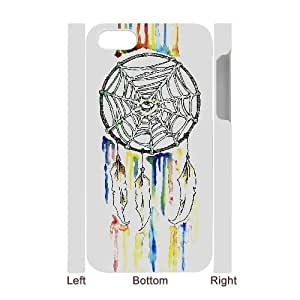 3D Bumper Plastic Case Of Dream Catcher customized case For ipod touch 4