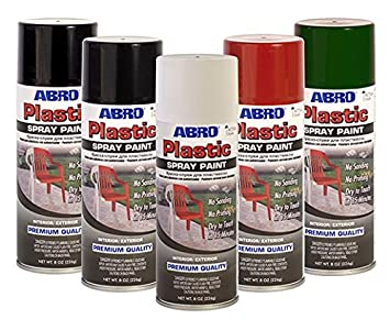 Abro Plastique Bombe De Peinture Blanc Brillant Fenêtre Pvc Ou