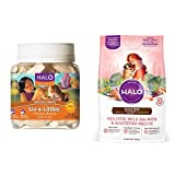 Halo Bundle Liv-A-Littles Treat plus 4LB Small Bre...