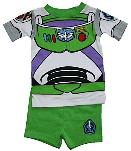 Toy Story Buzz Lightyear Baby Boys Short Cotton Pajama Set (24 Months) (Baby Buzz Lightyear)