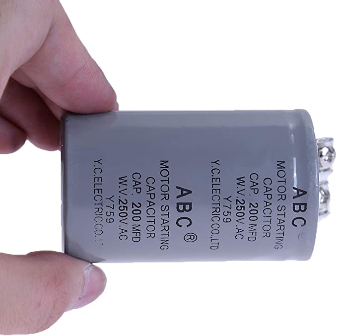 TMC CD60A 200uF  200MFD 125VAC MOTOR STARTING Capacitor  125 VAC UL listed