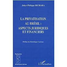 La privatisation au brésil - aspects juridiques et financier