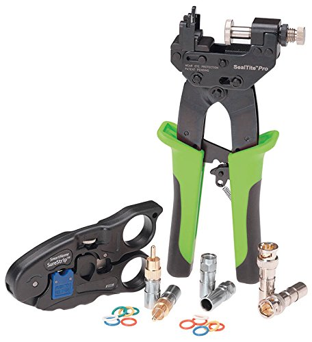 Greenlee  4915 Compression Crimp Bundle for the Smart Home A/V Kit ()