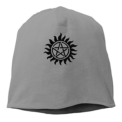 - Lure Wayest Supernatural Emblem Beanie Hat for Men and Women