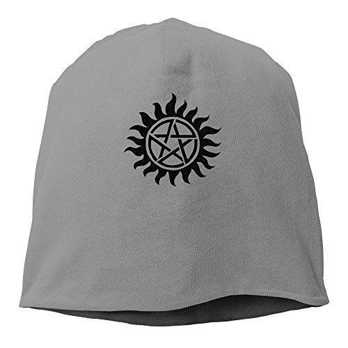 Lure Wayest Supernatural Emblem Beanie Hat for Men and Women