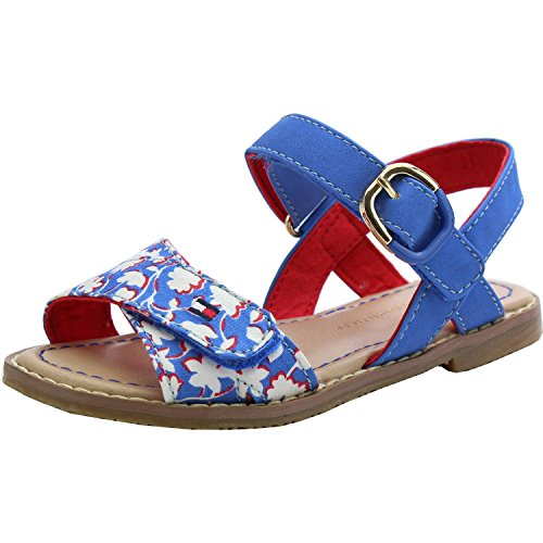 Tommy Hilfiger S3285asha 2C Palace Blue Synthetic Infant Flat Sandals Palace Blue