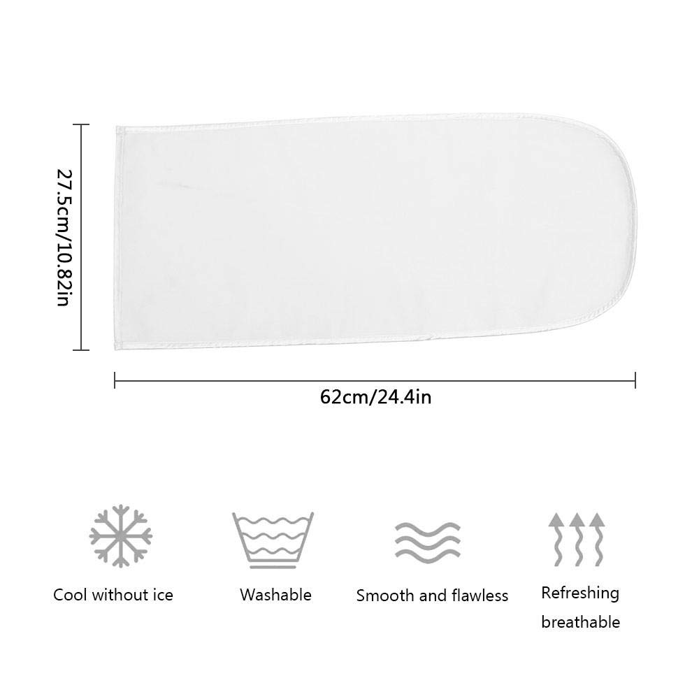 Volwco Double-Sided Changing Pad Liners Breathable Washable Baby Lounger Mat with Ice Silk /& Velvet Surface One Side Waterproof 62 X 27.5cm