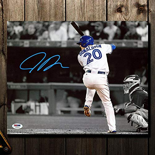 Josh Donaldson Signed Photograph - SPOTLIGHT 16x20 - Autographed MLB Photos