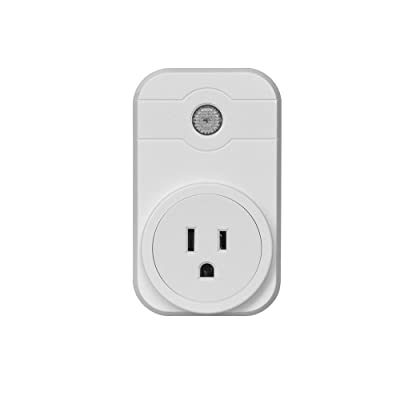 Amiley Smart Switch, Wifi Smart App Remote Control Timer Socket US Plug Home Automation